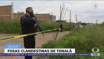 Descubren dos fosas clandestinas en Tonalá, Jalisco