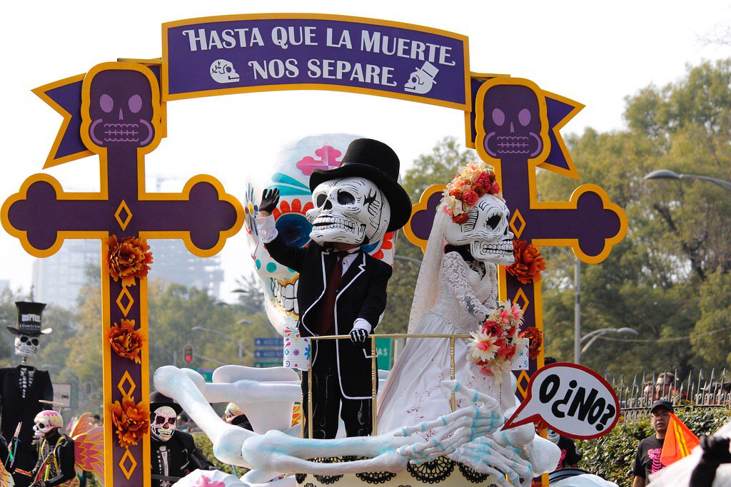 Ruta del desfile de Día de Muertos en CDMX