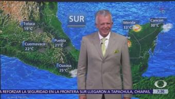 Frente frío 6 causa descenso de temperaturas en México