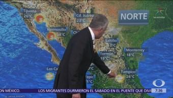Despierta con Tiempo: Huracán 'Willa' y tormenta 'Vicente' generan lluvias