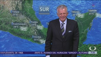 Despierta con Tiempo Tormenta tropical Sergio se acerca