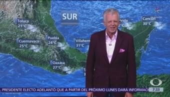 Despierta con Tiempo Tormentas fuertes en Chiapas