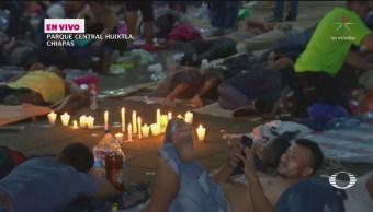 Despliegan Operativo Huixtla Chiapas Apoyar Migrantes