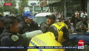 Detienen a otro presunto delincuente durante operativo de Policía CDMX