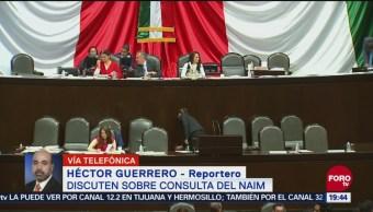 Diputados Debaten Sobre Consulta Naim Nuevo Aeropuerto