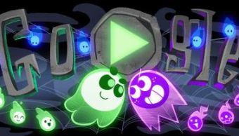 Google celebra Halloween con doodle interactivo