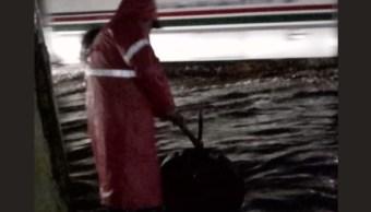 Lluvia deja inundaciones en Ecatepec, Estado de México