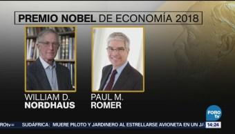 Economistas estadounidenses ganan Premio Nobel