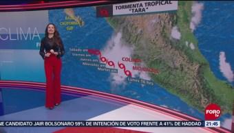 Clima Las Noticias FOROtv Mayte Carranco Lluvias