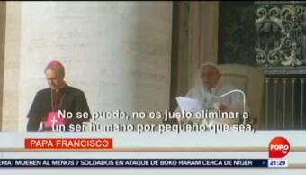 Papa Compara Aborto Contratar Sicario Crimen
