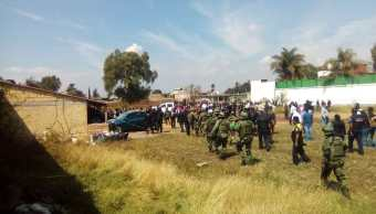 Violencia Texcoco; reportan tres muertos tras balacera CJNG
