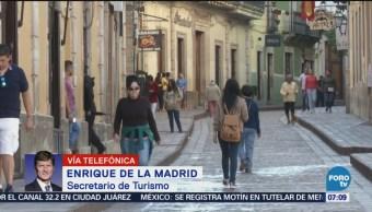 Enrique de la Madrid Turismo podría caerse por inseguridad