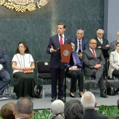 Gobierno federal mantendrá trabajos del Nuevo Aeropuerto al 30 de noviembre: Peña Nieto