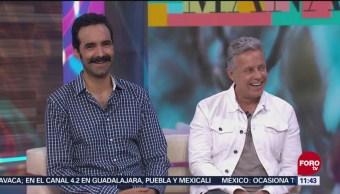Entrevista a los protagonistas de telenovela 'Amar a muerte'
