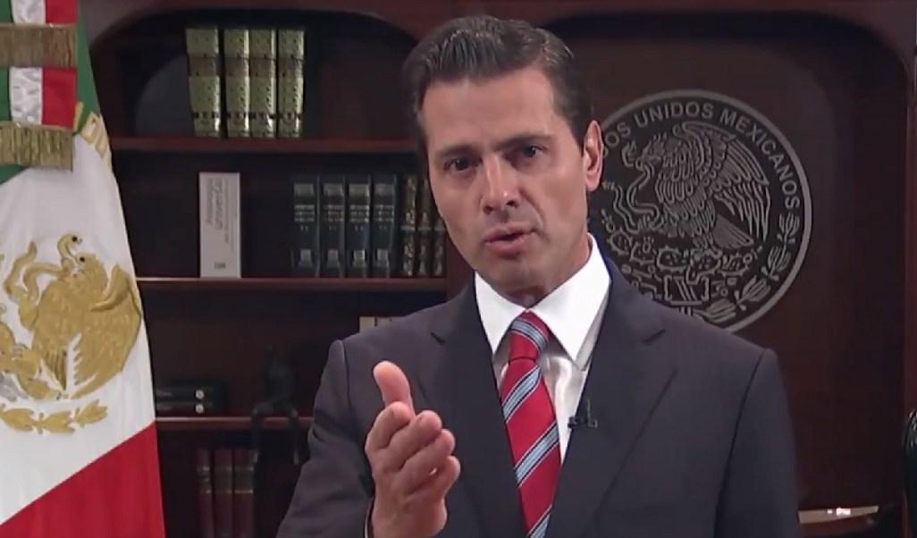 Peña Nieto: No permitiremos ingreso irregular o violento al país