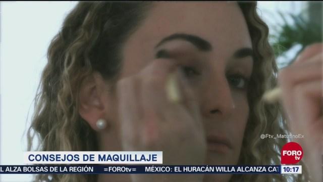 Escucha estos tips de maquillaje de Fernanda Santos