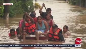 Estragos Tormenta Tropical Vicente Oaxaca Muertos