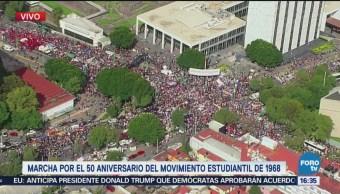 Estudiantes de prepas y CCH se alistan para participar en la marcha por el 68