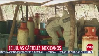 EU Cárteles Mexicanos Representan Amenaza Terrorista