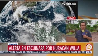 Evacuan a 1,900 personas en Sinaloa ante llegada del huracán 'Willa'