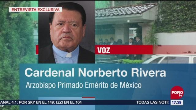 Excardenal Norberto Rivera Confirma Ataque En Su Vivienda