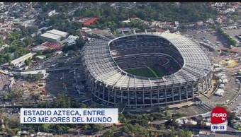 Extra, Extra: Estadio Azteca, entre los mejores del mundo