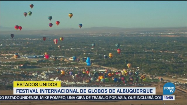 Festival Internacional Globos Albuquerque, Estados Unidos