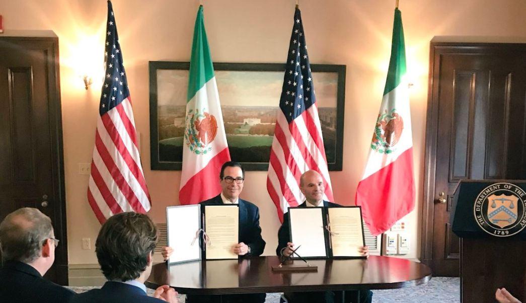 México y Estados Unidos firman un Memorando de Entendimiento