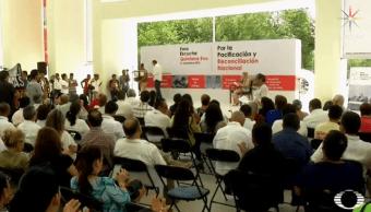 Cancelan foros de pacificación en Tamaulipas y Veracruz
