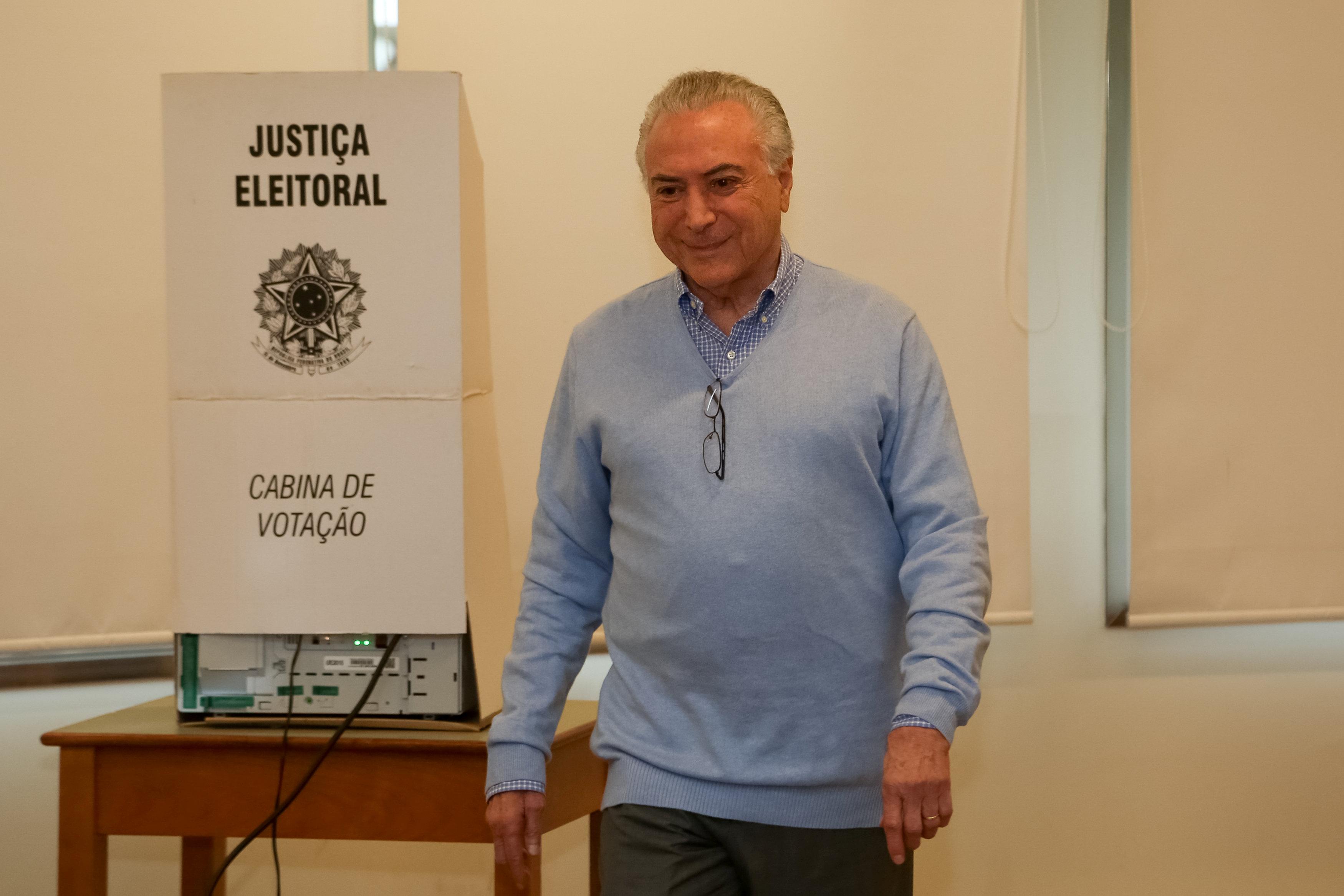Policía Federal de Brasil pide acusar a Michel Temer de corrupción