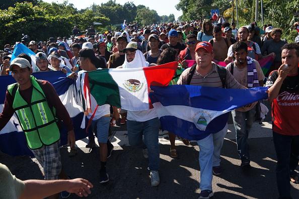 CIDH pide garantizar derecho al asilo de caravana migrante