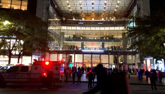 Desalojan sede de CNN en NY por nuevo paquete sospechoso