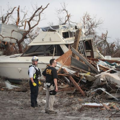Suman 30 muertos en Estados Unidos por paso del huracán 'Michael'