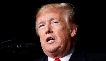 Trump pide a medios cese de hostilidades tras envío de bomba