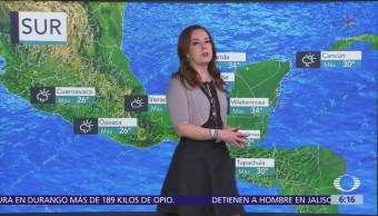 Frente frío 6 generará tormentas en noreste y oriente de México