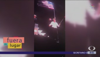 Paul McCartney confunde bandera de Texas con la de Chile
