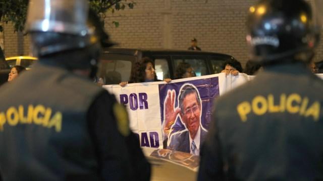 Fujimori, hospitalizado tras conocer nulidad de indulto