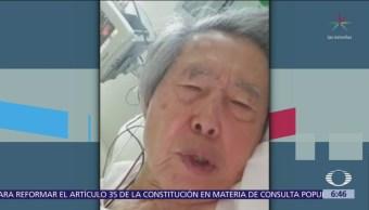 Fujimori pide que no lo regresen a la cárcel