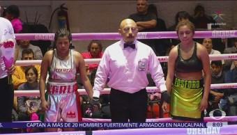Función de box apoyan a mujeres con cáncer de mama