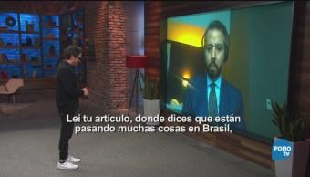 Genaro Lozano Entrevista A Rodrigo Zeidan
