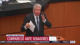 Gerardo Ruiz Esparza defiende que el caso del Paso Express está cerrado