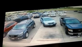 Hombre-Golpea-Mujer-San-Antonio-Pelea-Estacionamiento