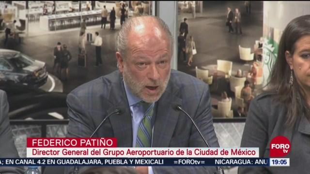 Grupo Aeroportuario Mantiene Trabajo Nuevo Aeropuerto Texcoco