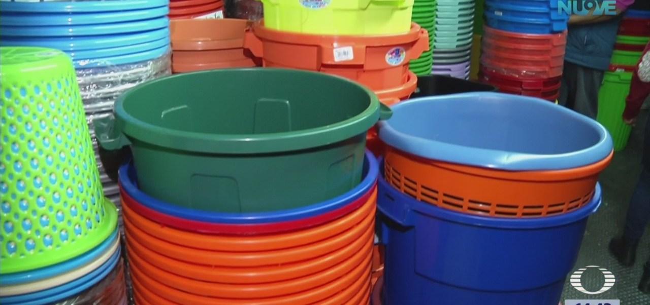 Habitantes de CDMX se preparan para corte de agua
