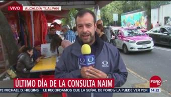 Habitantes Alcaldía De Tlalpan Votan Consulta