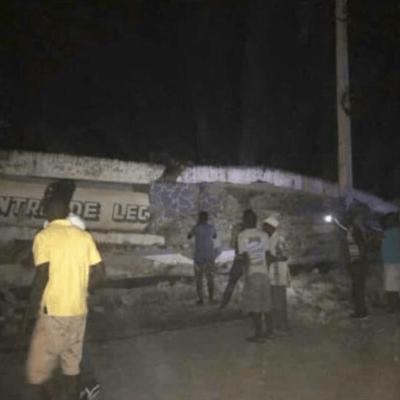 Sismo de magnitud 5.9 causa daños en el norte de Haití