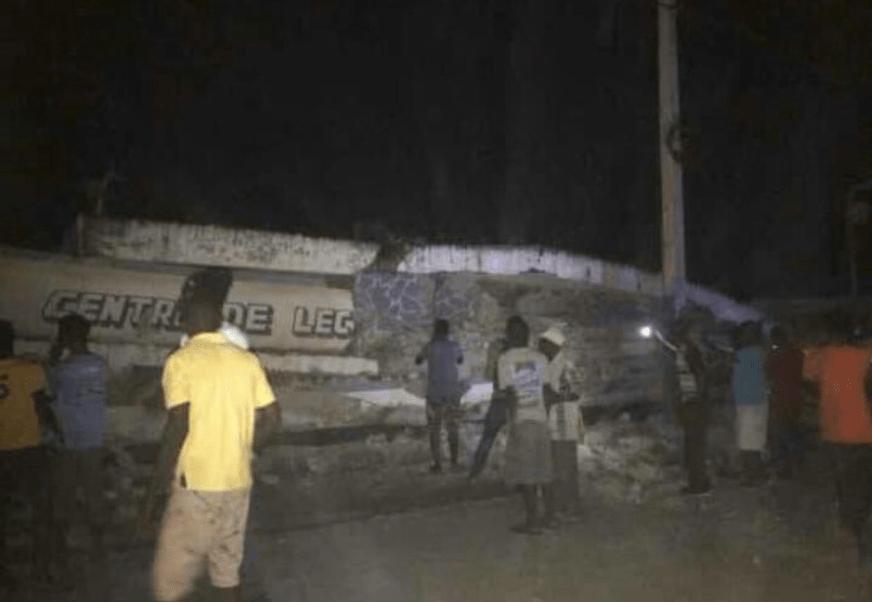 sismo haiti provoca daños port de paix