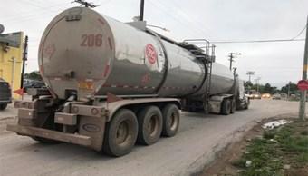 Seguridad Tamaulipas; aseguran 104 mil litros hidrocarburo
