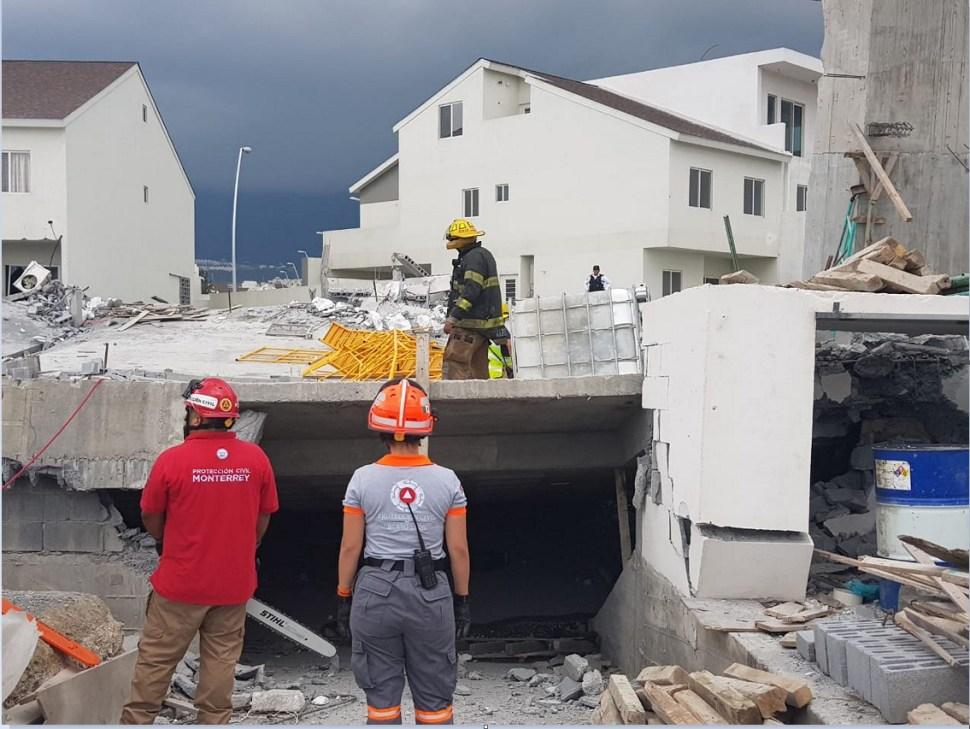 Identifican los siete cadáveres del derrumbe en Monterrey