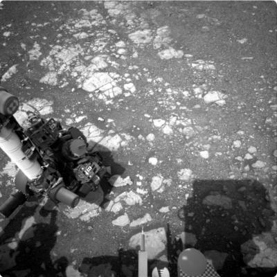Robot de la NASA envía nuevas fotografías de Marte